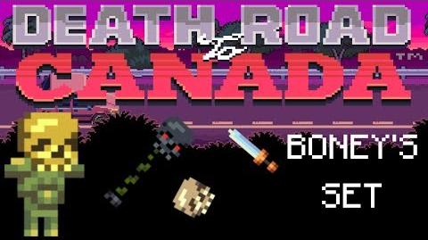 Death Road to Canada Item Guide Boney's Set