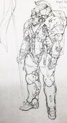 Ludens early sketch art 05