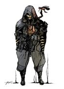 Man in the Golden Mask concept art TGS 2018