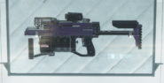 Sticky Gun on Rack