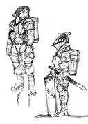 Ludens early sketch art 03