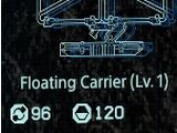 Floating carrier