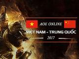 AOE Online Việt Trung 2017