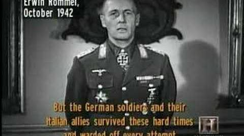 Rommel Speaking