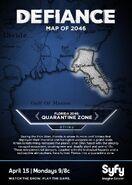 Quarantine Zone Map