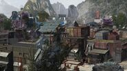 Defiance syfy town overview street cgi