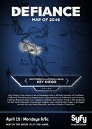 Key Diego Map