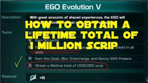 Defiance - Ego Evolution V A Trick To Earning 1 Million Lifetime Scrip
