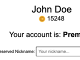 Reserving A Name