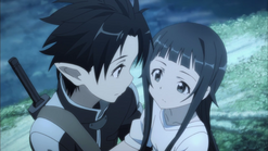 Yui y Kirito