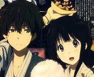Oreki and Chitanda