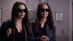 Jenna and Sydney