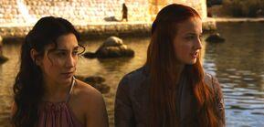 Shae and Sansa
