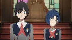 Hiro and ichigo
