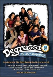 Degrassi: The Next Generation season 1 DVD digipak