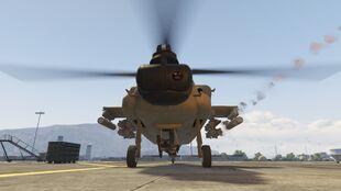 Hunter-V-Lenkraketen