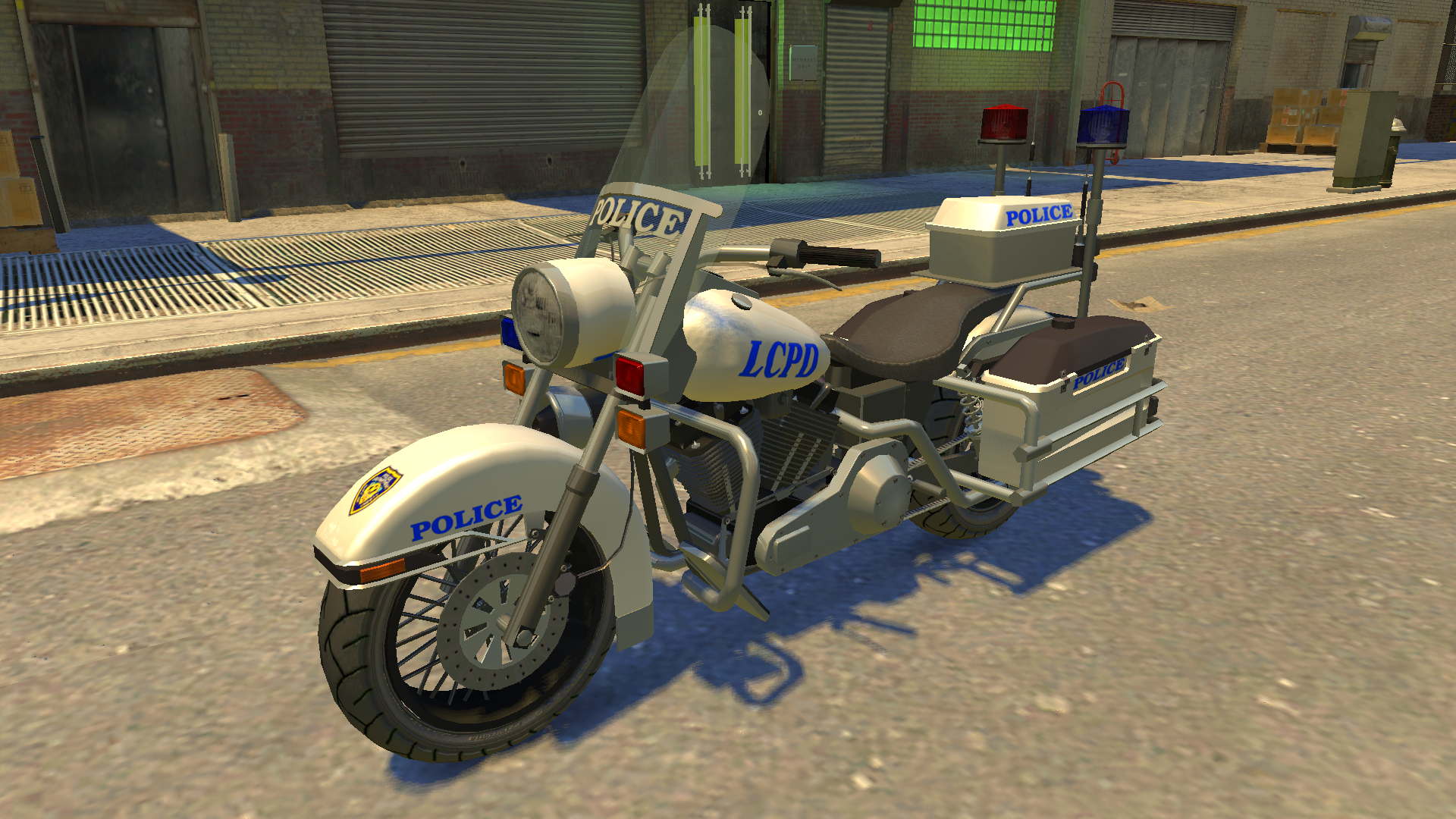 Polizeimotorrad (IV)