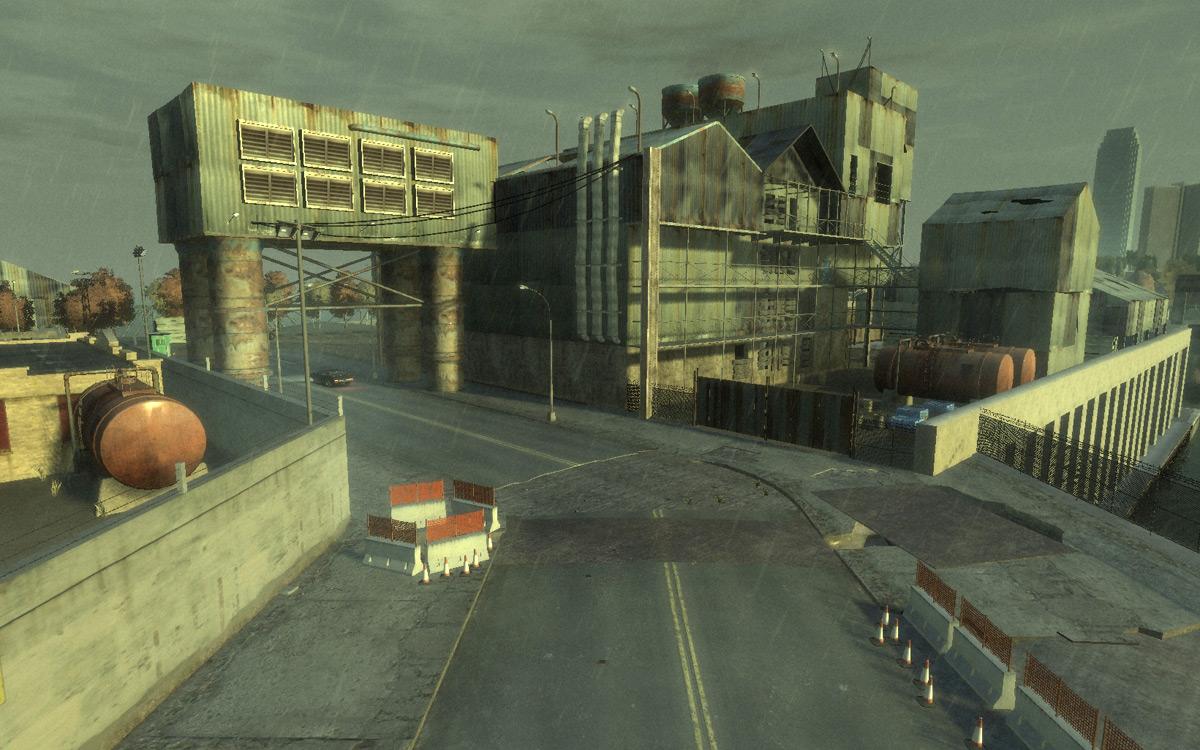Verlassene Xero-Gas-Fabrik