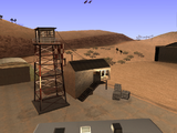 Ausrangierter Flugplatz-Tower