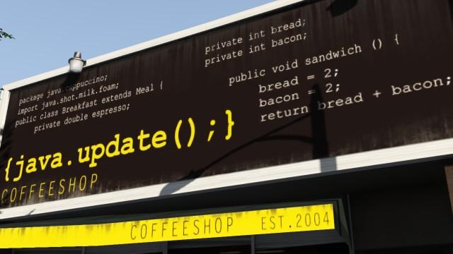 Java.update Coffeeshop