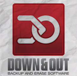 Down & Out Backup and Erase Software