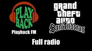 GTA San Andreas - Playback FM Full radio