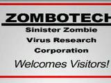 Zombotech Sinister Zombie Virus Research Corporation