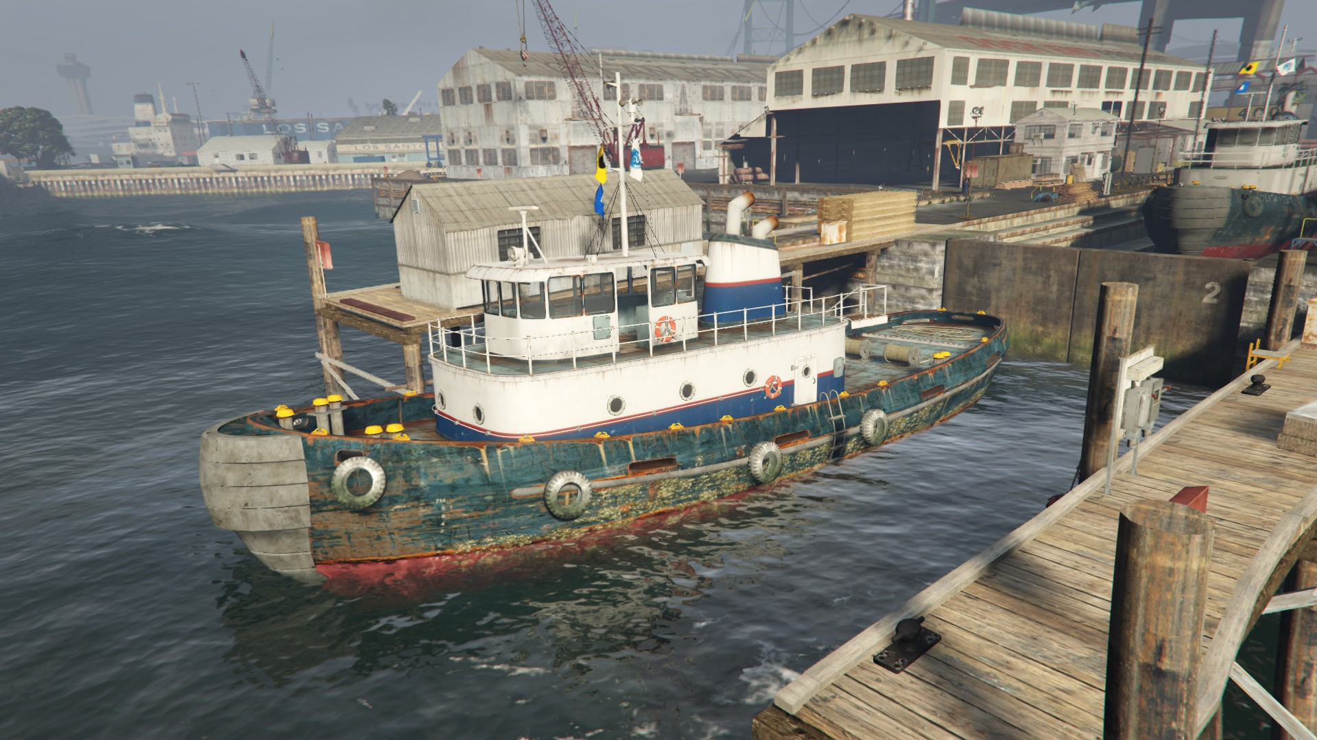 Hafenschlepper (V)