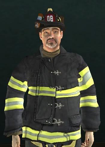 M Y Fireman White