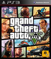 PlayStation3-Packshot GTA V