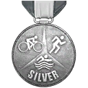 Triathlon V Silber