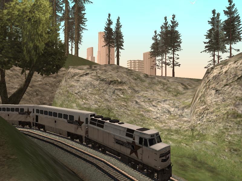 Brown-Streak-Railroad-Hauptstrecke
