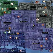 Karte GTA2 Downtown