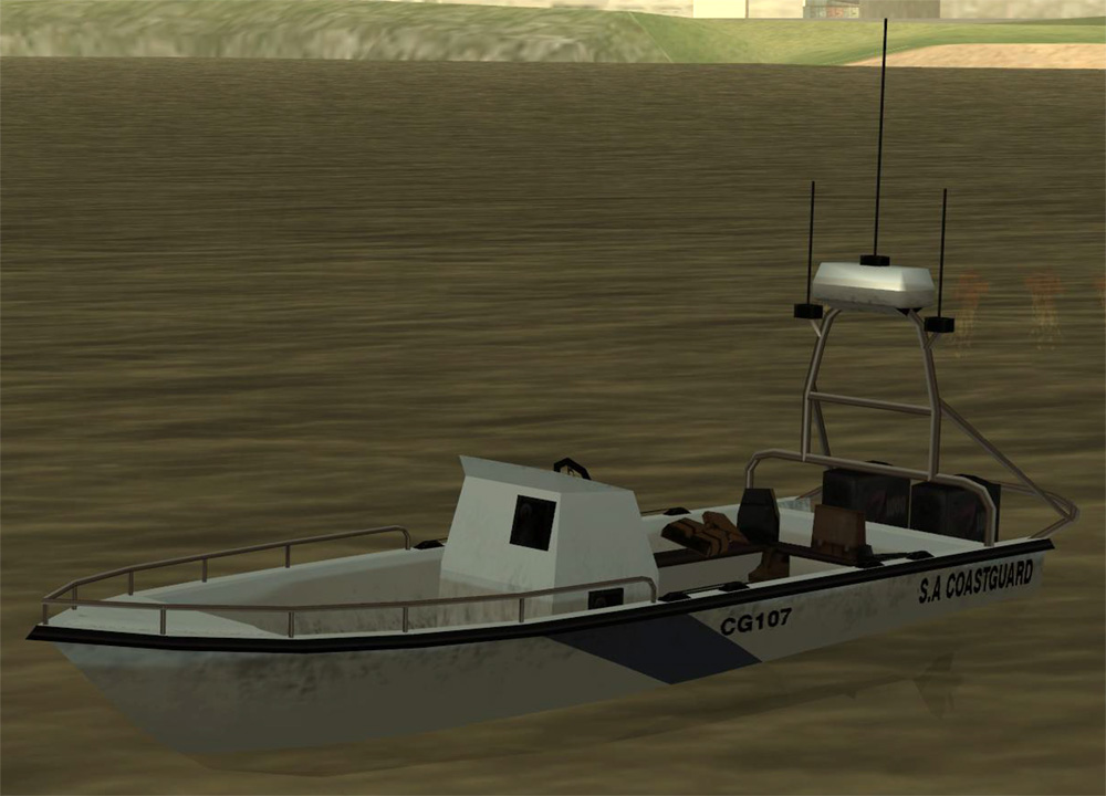 San Andreas Coastguard