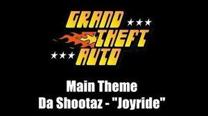 "GTA 1 (GTA I) - Main Theme Da Shootaz - ""Joyride"""