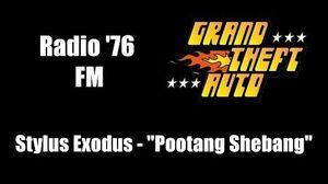 "GTA 1 (GTA I) - Radio '76 FM Stylus Exodus - ""Pootang Shebang"""