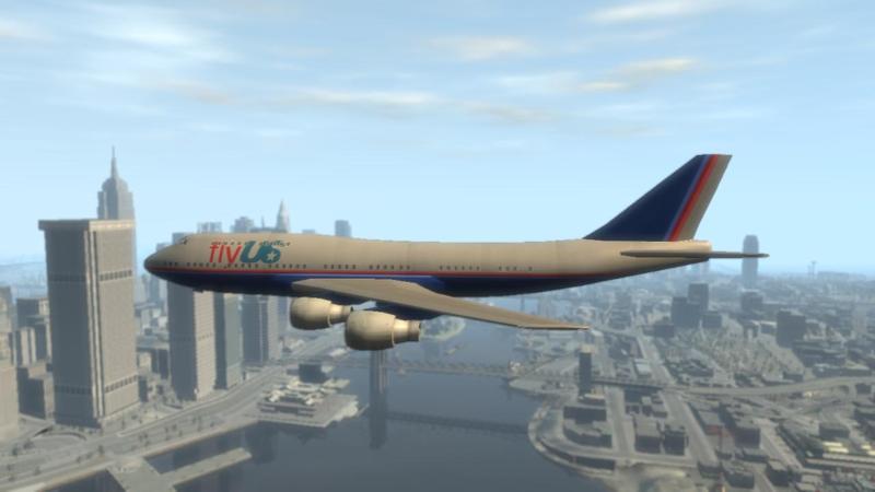 Passagierflugzeug (IV)