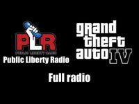 GTA IV (GTA 4) - Public Liberty Radio - Full radio