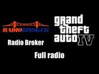 GTA IV (GTA 4) - Radio Broker - Full radio