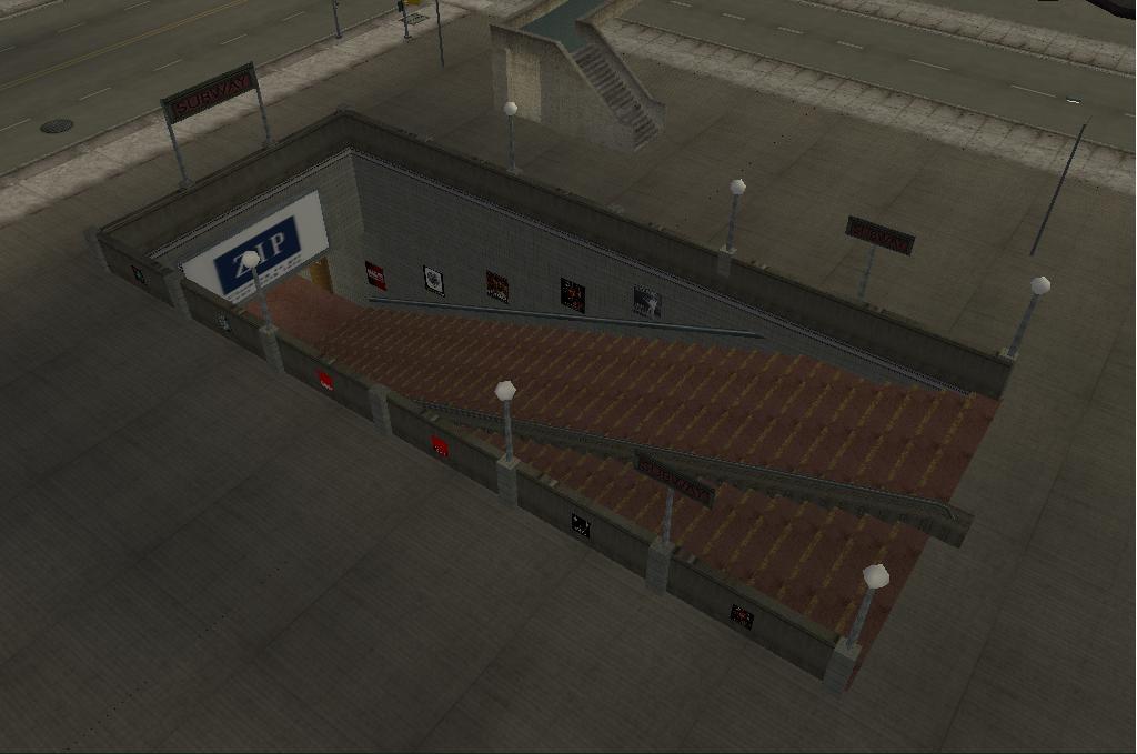 Staunton South Station