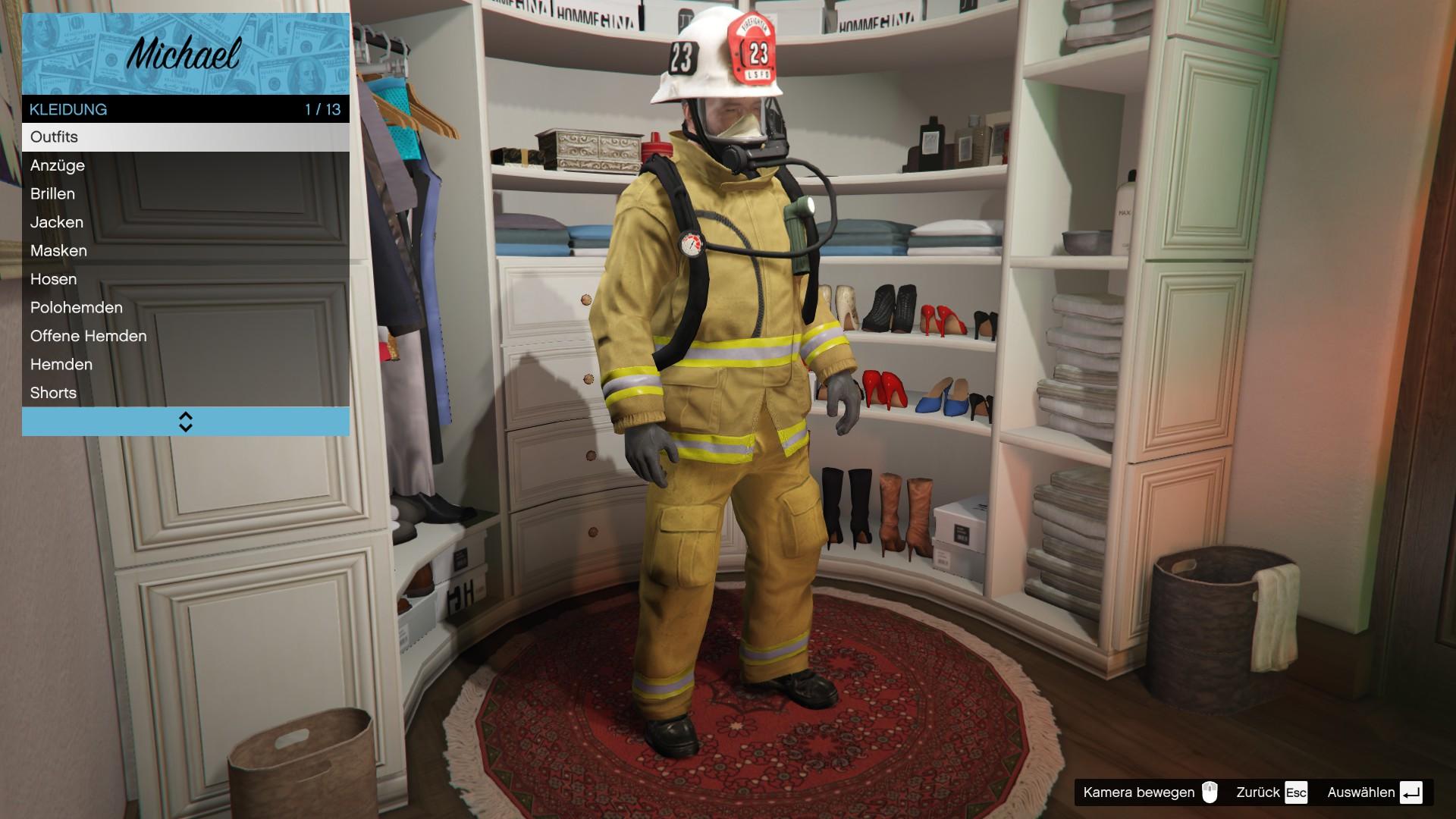 Feuerwehrmann (V)
