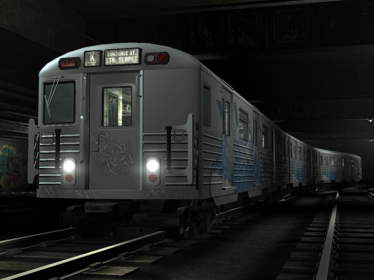 U-Bahn-Zug (IV)