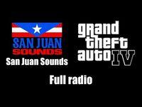 GTA IV (GTA 4) - San Juan Sounds - Full radio