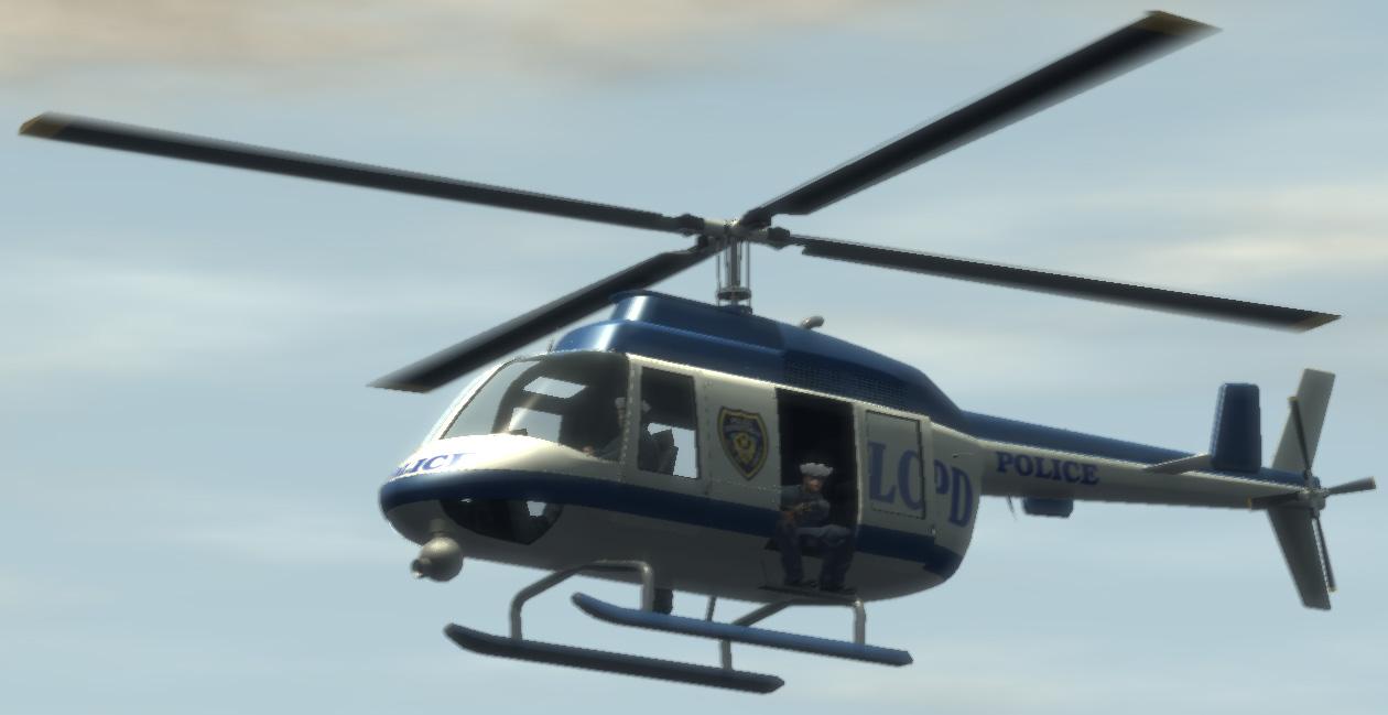 Polizei-Hubschrauber (IV)
