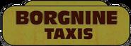 Borgnine-Taxis-Logo, III