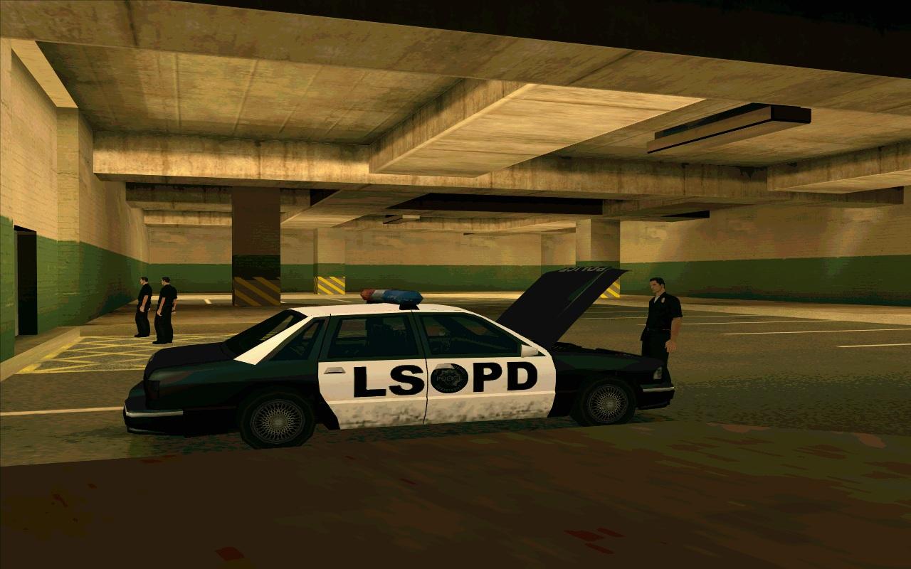 Polizei-Tiefgarage (LSPD)