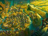 Das Dorf im Tal des Friedens