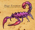 Huge Scorpion color