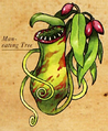 Man-eating plant