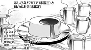 Mysterious Bavarois (Unidentified) and Some Kind of Tea (Unidentified)